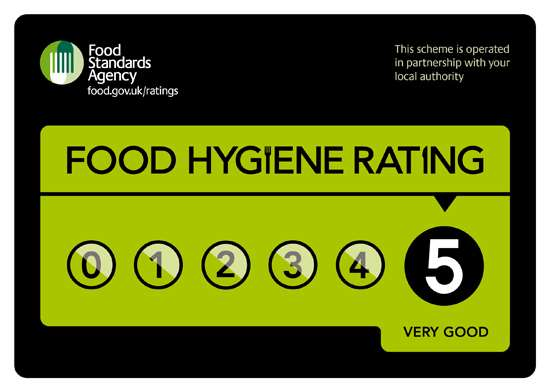 Five Star Food Hygiene Rating