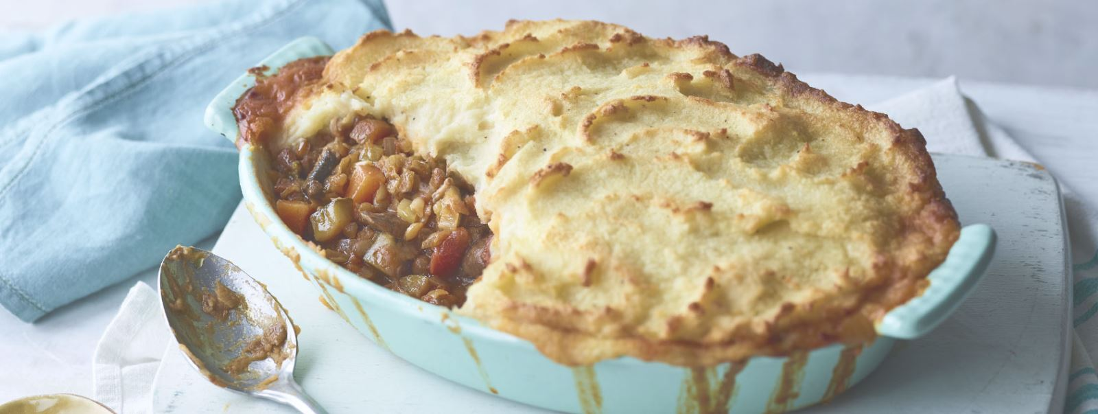 Shephards Pie at Parkside House